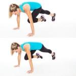 Chỉ 4 phút tập dượt giúp bạn loại bỏ mỡ thừa với bài tập Tabata