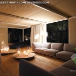 thiết kế nội thất biệt thự Vinhomes Riverside phù hợp với mùa đông