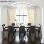 Mẫu Thiết kế Penthouse có sàn gỗ màu tối
