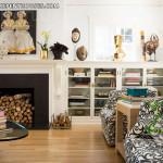 Công trình nội thất phòng khách Penthouse mang nhiều tính khác lạ