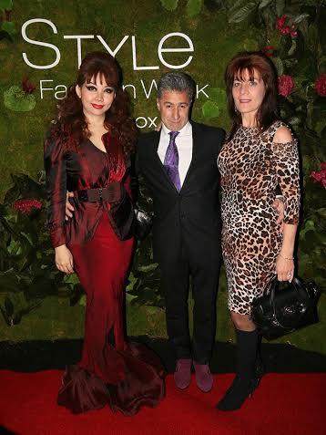 Vợ chồng nam diễn viên Anthony Aquilino cũng là những khách mời quan trọng của show.